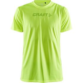 Craft Core Essence T-Shirt z siateczką Mężczyźni, żółty